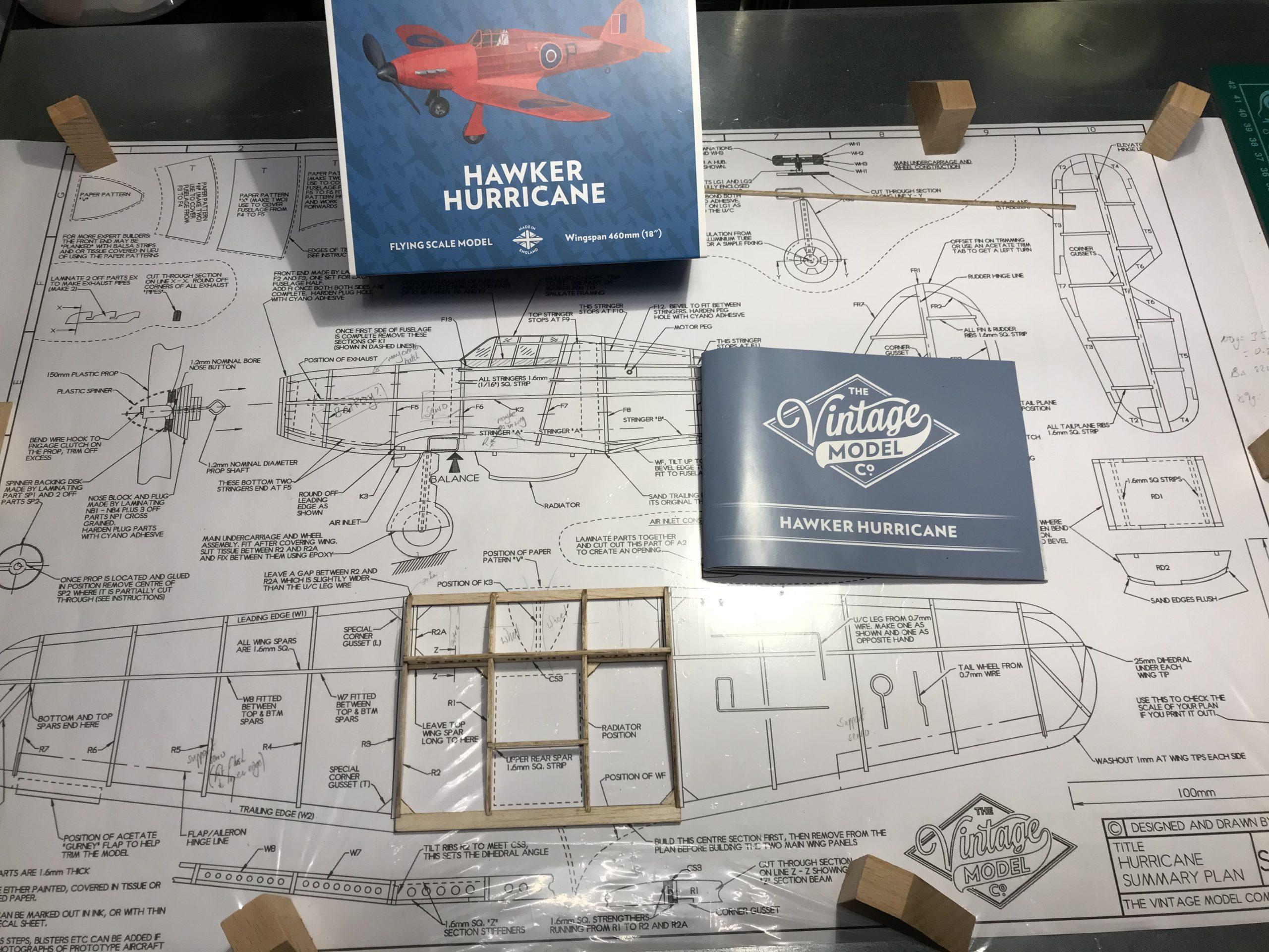 VMC Hawker Hurricane Plan