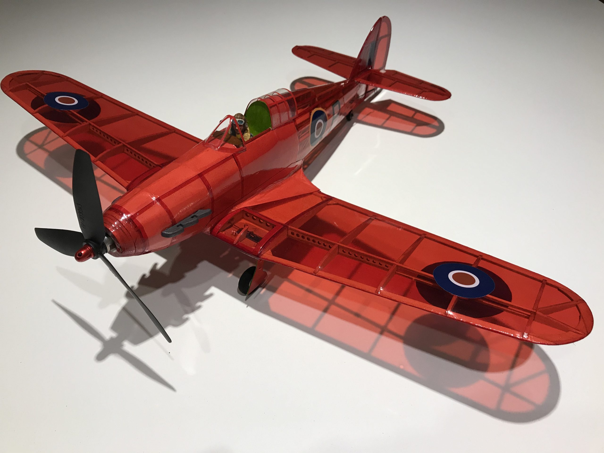 Hurricane, just awaiting a spinner and test flight